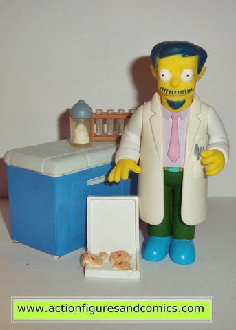 simpsons DR DOCTOR NICK RIVIERA complete playmates toys world of springfield