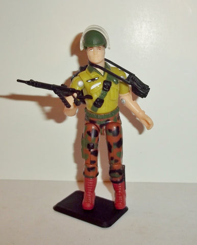 gi joe DUKE 1997 v7 15th anniversary TRU exclusive series silver mirage army recon mission Complete