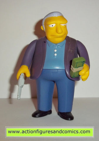 simpsons FAT TONY playmates world of springfield action figures 7336