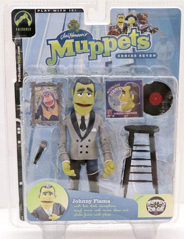 muppets the muppet show JOHNNY FIAMA silver suit palasades toys moc