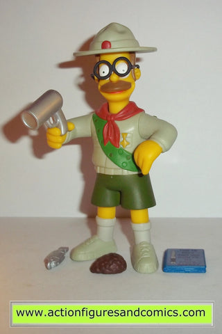 simpsons NED FLANDERS scout leader series 10 playmates