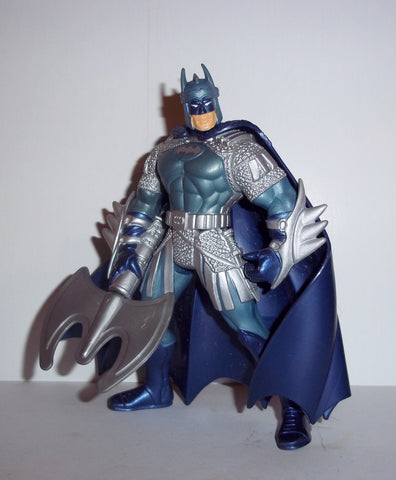 batman legends of GLADIATOR BATMAN wb store exclusive silver armor kenner toys