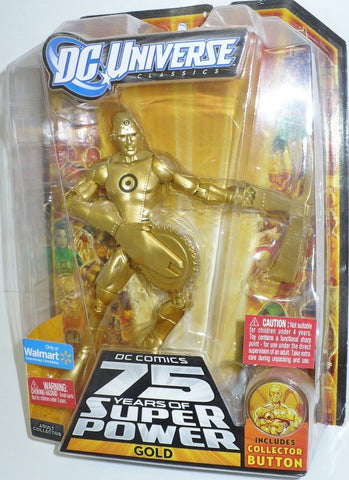 Mattel DC UNIVERSE classics 6 inch GOLD metal men new moc wave 14 ultra humanite series