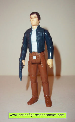 star wars action figures HAN SOLO BESPIN 1980 kenner vintage 100% complete