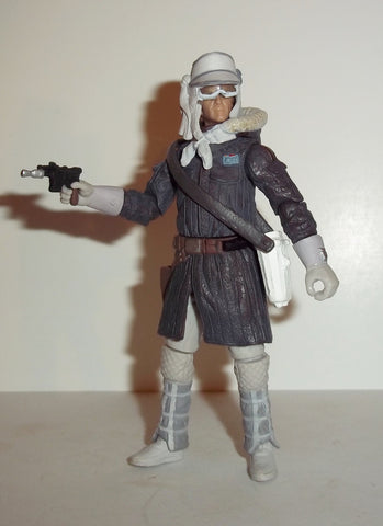 star wars action figures HAN SOLO hoth gear VOTC otc