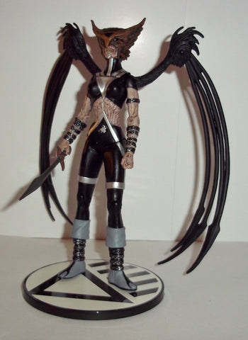 dc direct HAWKGIRL black lantern blackest night collectables complete