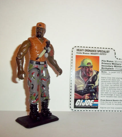 gi joe HEAVY DUTY 1998 v3 mobat tank 15th anniversary TRU action figures fc