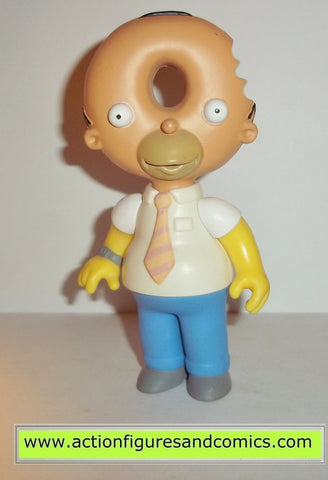 simpsons DONUTHEAD HOMER playmates treehouse of horror 3