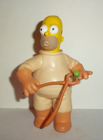 simpsons HOMER SIMPSON RADIOACTIVE playmates nuclear plant fig