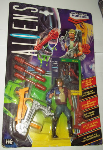 aliens vs predator kenner HUDSON uk exclusive small bubble 1992 avp moc
