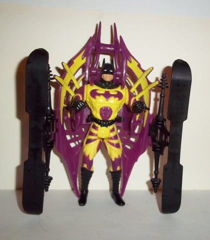 batman & robin ICE BLADE BATMAN yellow purple complete movie kenner 1997 1996