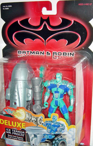 BATMAN & ROBIN 1997 movie series ICE TERROR MR FREEZE deluxe new moc kenner
