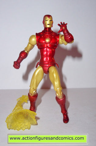 marvel universe iron man ironman hasbro toy biz legends series 1