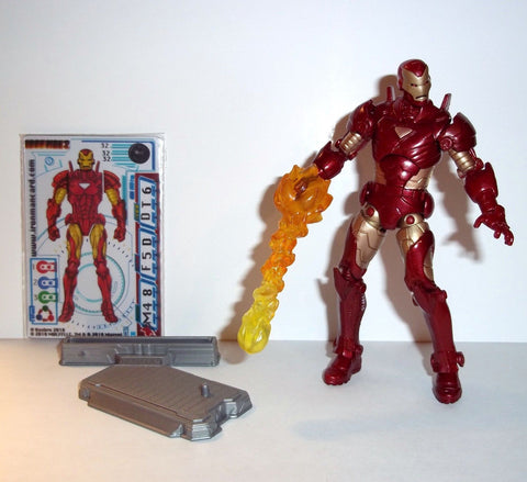 marvel universe IRON MAN advanced armor 32 complete 2 movie