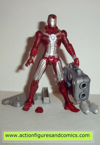marvel universe IRON MAN suitcase armor mark 5 V 2 movie action figure