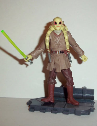 Star Wars Action Figures Kit Fisto 22 Revenge Of The Sith Actionfiguresandcomics