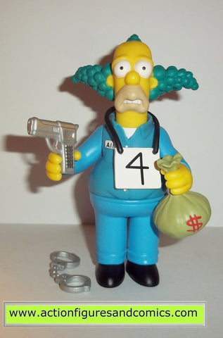 simspons KRUSTY busted krusty the clown series 9 2002 playmates