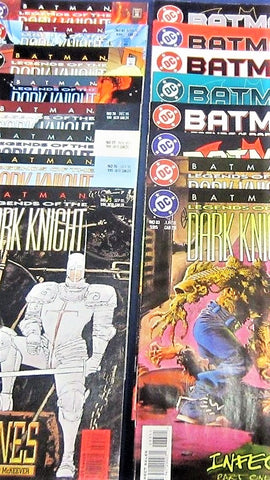 DC comics 1987 series BATMAN Legends of the DARK KNIGHT 0 1 - 216 COMPLETE