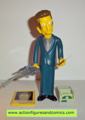 simpsons LEGS series 13 2003 playmates complete mobster