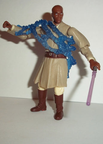 star wars action figurs MACE WINDU #10 revenge of the sith