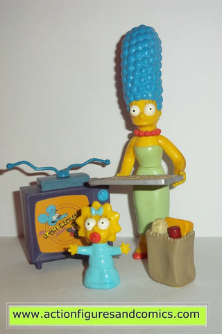 The Simpsons Marge Simpson Maggie Simpson Living Room Playmates