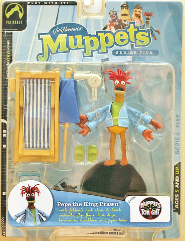 muppets PEPE the prawn king the muppet show jim henson palasades toys