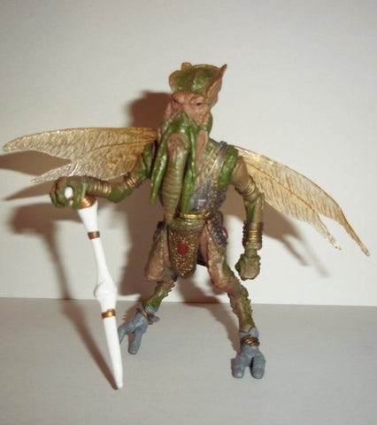star wars action figures POGGLE the LESSER geonosian war room