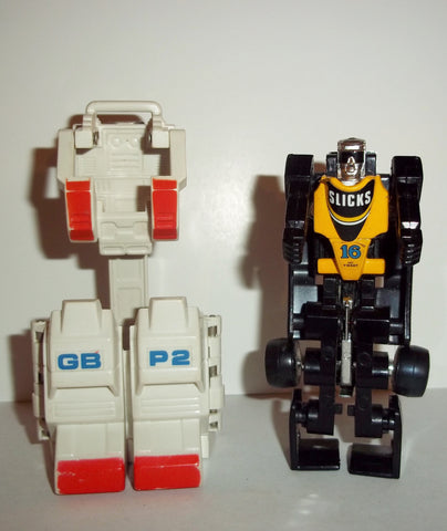 gobots POWER SUIT GB P2 & SLICKS complete vintage mr-31 tonka ban dai