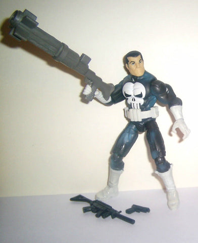 marvel universe PUNISHER series 1 004 complete 2009 white boots