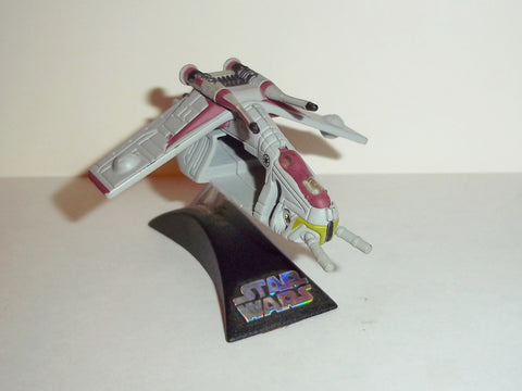 star wars titanium REPUBLIC GUNSHIP red complete