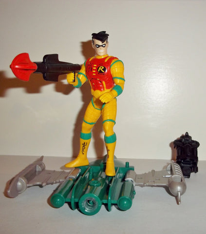 batman animated series HYDRO STORM ROBIN complete kenner the