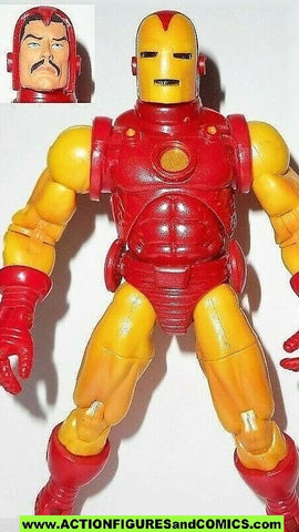 marvel legends IRON MAN series 1 wave tony stark 2002 toy biz action figures fig