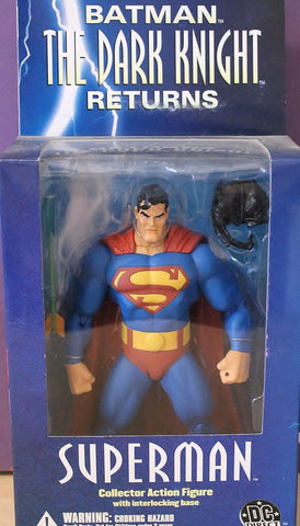 "DC Superheroes SUPERMAN Justice League Unlimited 10/"" Figure Mattel 2004 Blue MIB"