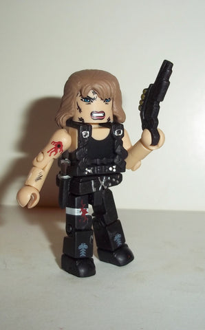 minimates SARAH CONNER TERMINATOR battle damaged complete art asylum