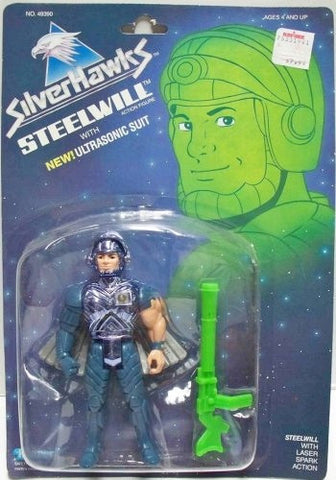 silverhawks STEELWILL 1987 action figure moc mip mib kenner