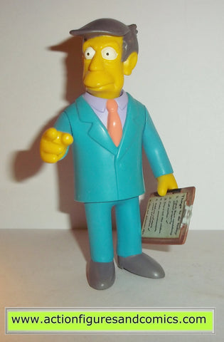 simpsons PRINCIPAL SKINNER playmates 2000 exclusive