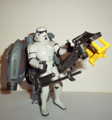 Crowd Control Stormtrooper 1996 DELUXE Power of the Force POTF Star Wars