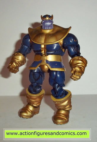 marvel universe THANOS gold version complete greatest battles