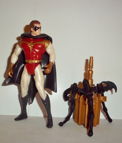 batman & robin TRIPLE STRIKE ROBIN complete kenner movie 1997 1996