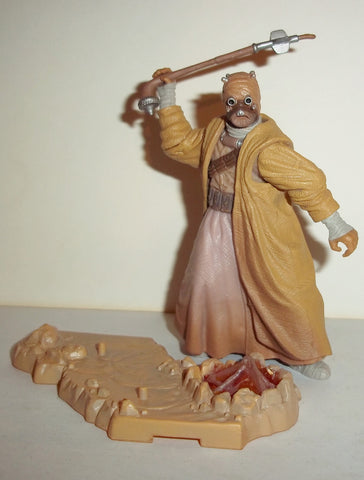 star wars action figures TUSKEN RAIDER tatooine camp ambush 2003 complete attack of the clones saga aotc