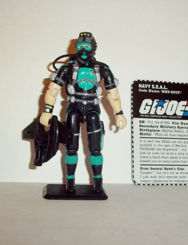 gi joe WET-SUIT 1998 v5 15th anniversary TRU exclusive series Complete