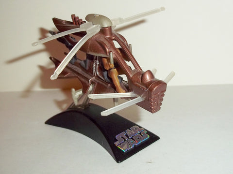 star wars titanium WOOKIEE HELICOPTER chopper flyer complete