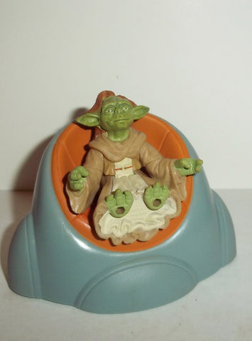 star wars action figures YADDLE 2002 attack of the clones yoda