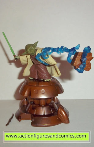 star wars action figures YODA jedi master #23 aotc saga attack of the clones