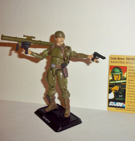 gi joe ZAP 2008 v5 25th anniversary ultimate battle pack complete rafael melendez