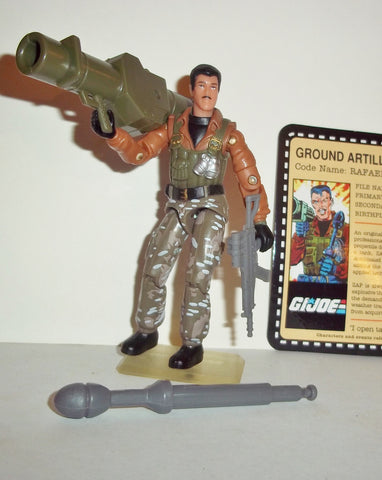 gi joe ZAP 2007 v4 25th anniversary TANKS FOR THE MEMORIES convention complete