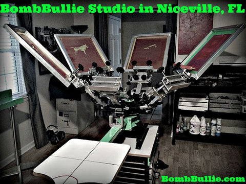 BombBullie Screenprinting Studio in Niceville, Florida