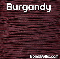 Burgandy Paracord