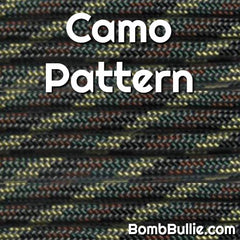 Camo Pattern Paracord