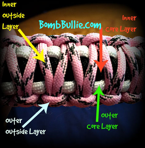 BombBullie King Cobra Collar with Four Colors